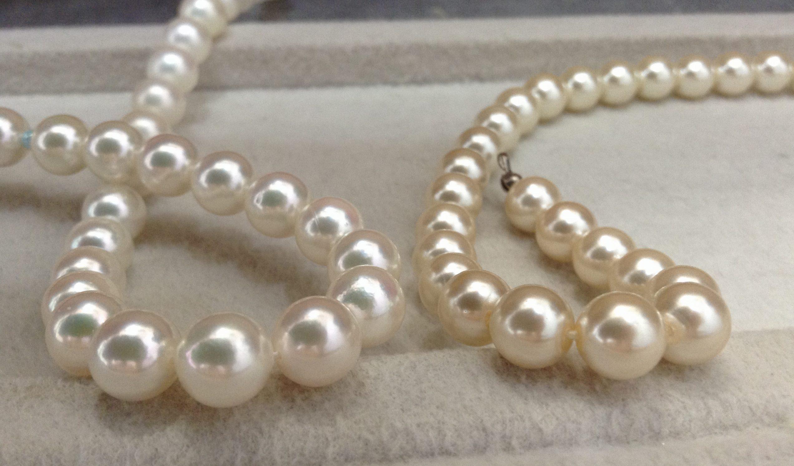 3つのポイントで見る!本真珠と模造真珠の見分け方