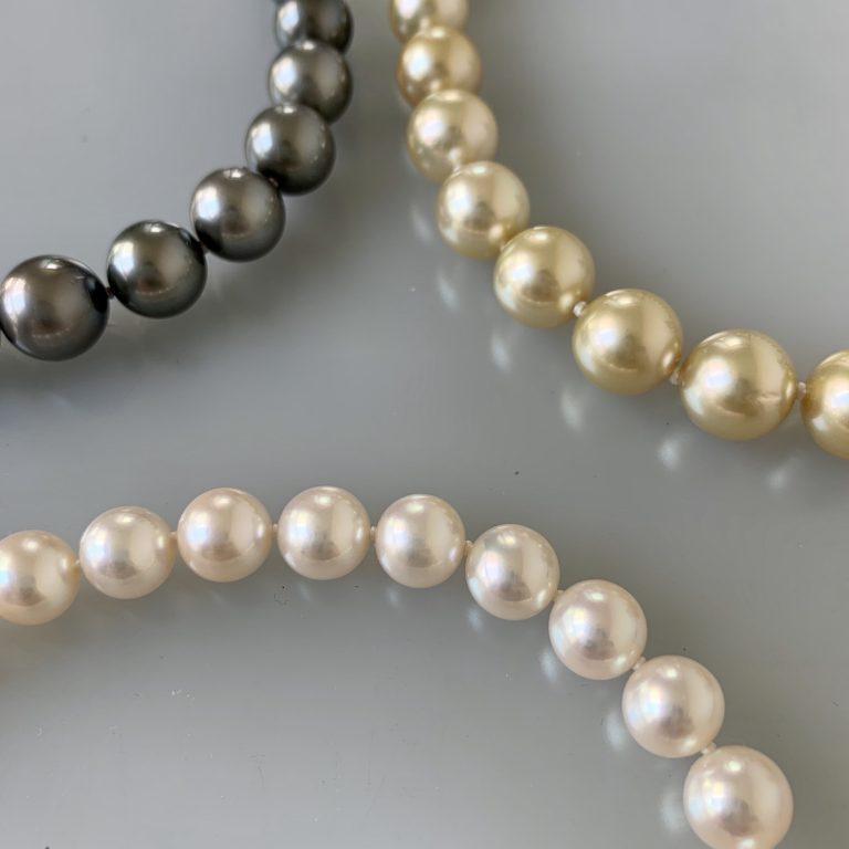 真珠のお手入れ〜①パールネックレスの7つの自己診断法